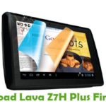 Lava Z7H Plus Firmware