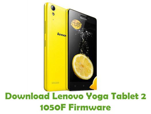 Download Lenovo Yoga Tablet 2 1050F Stock ROM