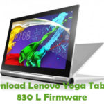 Lenovo Yoga Tablet 2 830 L Firmware