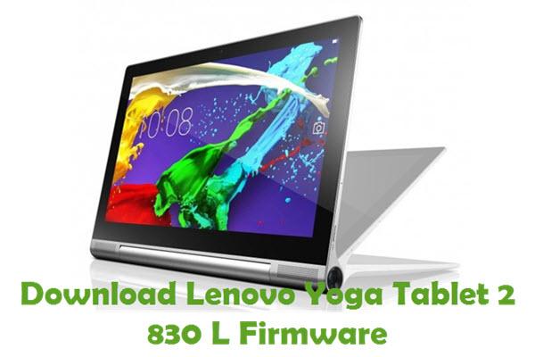 Download Lenovo Yoga Tablet 2 830 L Stock ROM