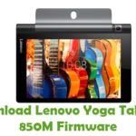 Lenovo Yoga Tablet 3 850M Firmware