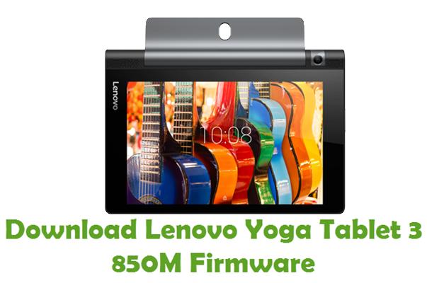 Download Lenovo Yoga Tablet 3 850M Stock ROM