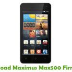 Maximus Max500 Firmware