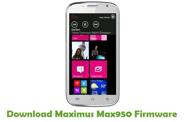 Download Maximus Max950 Firmware