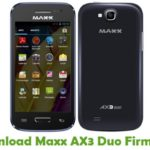 Maxx AX3 Duo Firmware