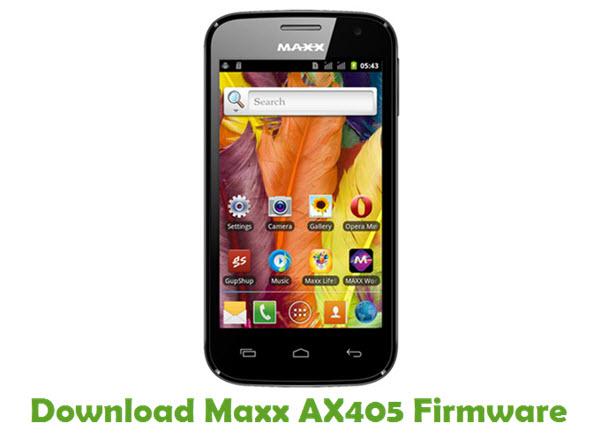 Download Maxx AX405 Firmware
