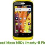 Maxx MSD7 Smarty-II Firmware