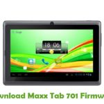 Maxx Tab 701 Firmware