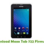 Maxx Tab 722 Firmware