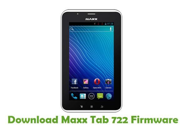 Download Maxx Tab 722 Firmware
