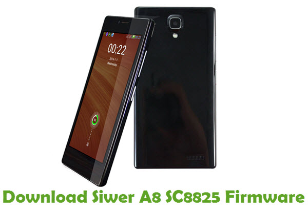 Download Siwer A8 SC8825 Firmware