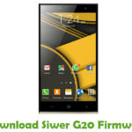 Siwer G20 Firmware