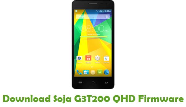 Download Soja G3T200 QHD Stock ROM