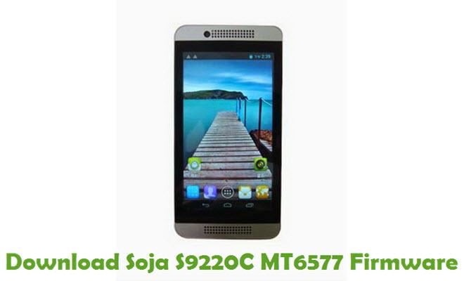 Download Soja S9220C MT6577 Stock ROM