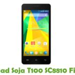 Soja T100 SC8810 Firmware