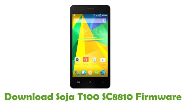 Download Soja T100 SC8810 Firmware