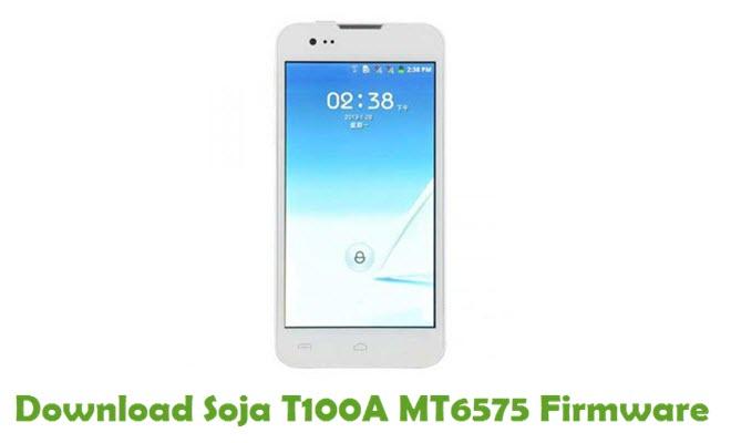 Download Soja T100A MT6575 Stock ROM