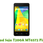 Soja T200A MT6572 Firmware