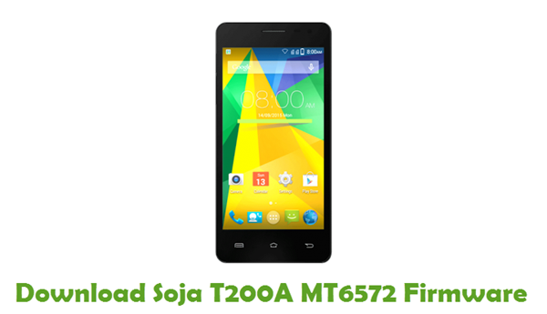 Download Soja T200A MT6572 Firmware