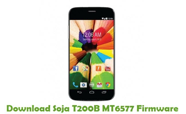 Download Soja T200B MT6577 Stock ROM