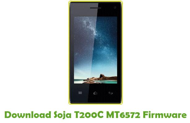 Download Soja T200C MT6572 Firmware