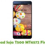Soja T500 MT6572 Firmware