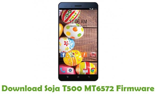 Download Soja T500 MT6572 Stock ROM