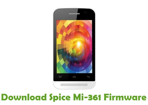 Download Spice Mi-361 Stock ROM
