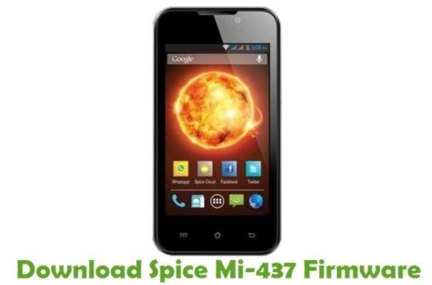 Download Spice Mi-437 Stock ROM