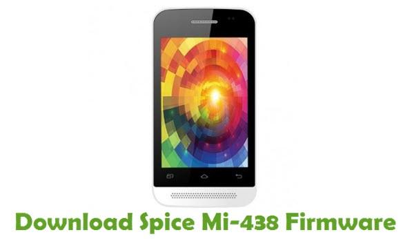 Download Spice Mi-438 Stock ROM