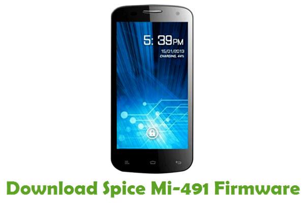 Download Spice Mi-491 Stock ROM