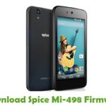 Spice Mi-498 Firmware