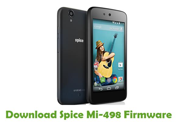Download Spice Mi-498 Stock ROM