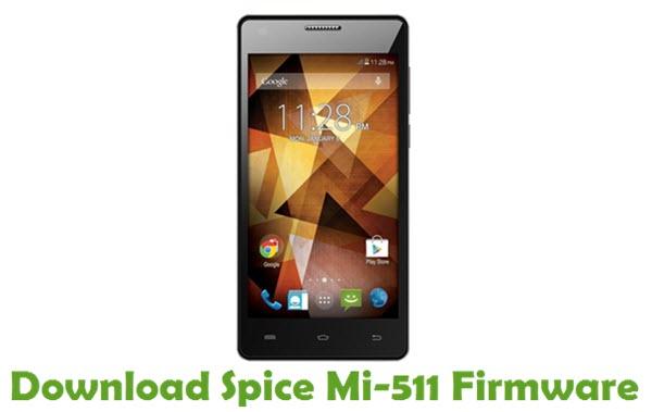 Download Spice Mi-511 Stock ROM