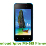 Spice Mi-515 Firmware