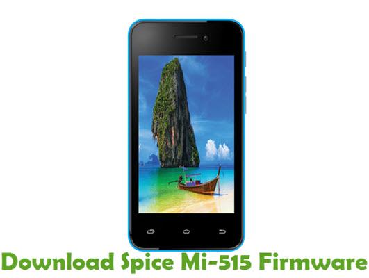Download Spice Mi-515 Stock ROM