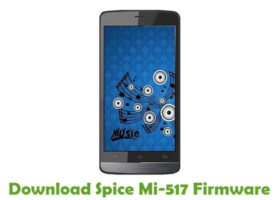 Download Spice Mi-517 Stock ROM