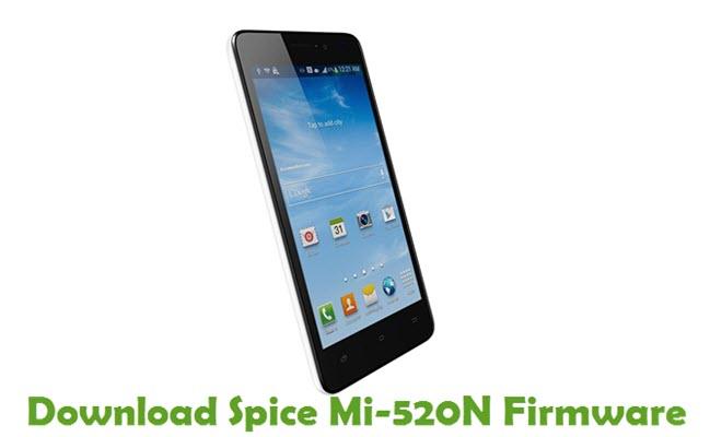 Download Spice Mi-520N Stock ROM