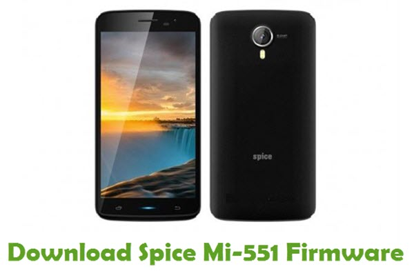 Download Spice Mi-551 Firmware