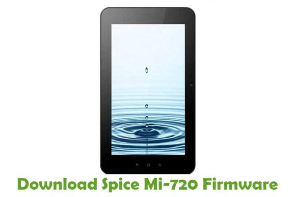 Download Spice Mi-720 Stock ROM