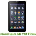 Spice Mi-730 Firmware