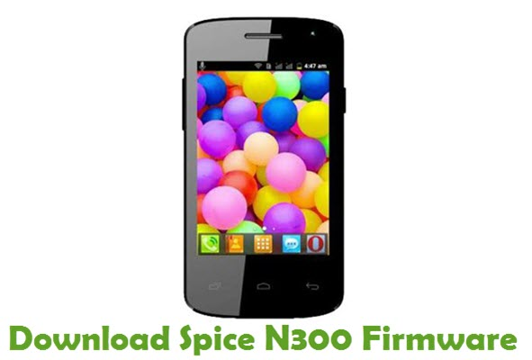 Download Spice N300 Stock ROM