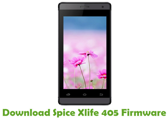 Download Spice Xlife 405 Stock ROM