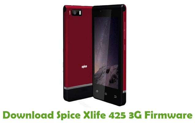 Download Spice Xlife 425 3G Stock ROM
