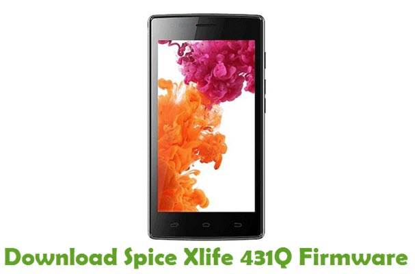 Download Spice Xlife 431Q Stock ROM