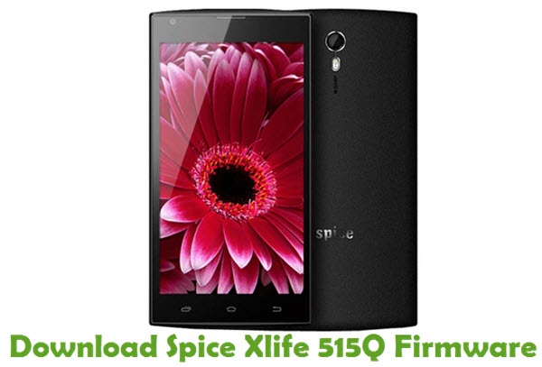 Download Spice Xlife 515Q Stock ROM