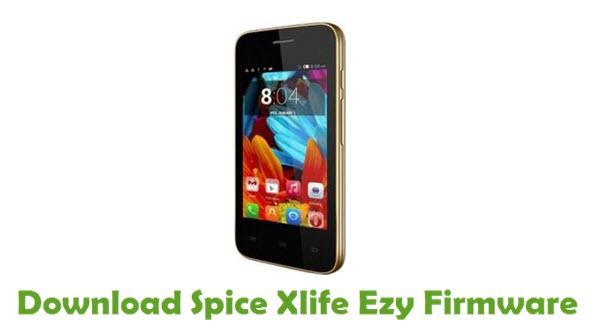 Download Spice Xlife Ezy Stock ROM