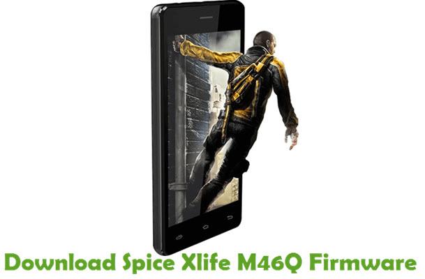 Download Spice Xlife M46Q Stock ROM