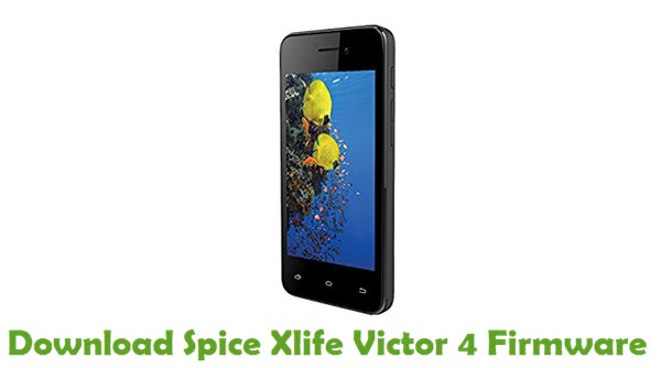 Download Spice Xlife Victor 4 Stock ROM