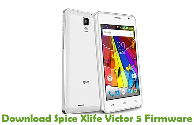 Download Spice Xlife Victor 5 Stock ROM